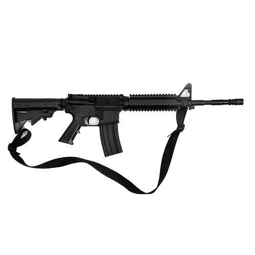 "Realistic TP Rubber M4 Rifle Training Gun : Black ( E400 ) 35"" -"