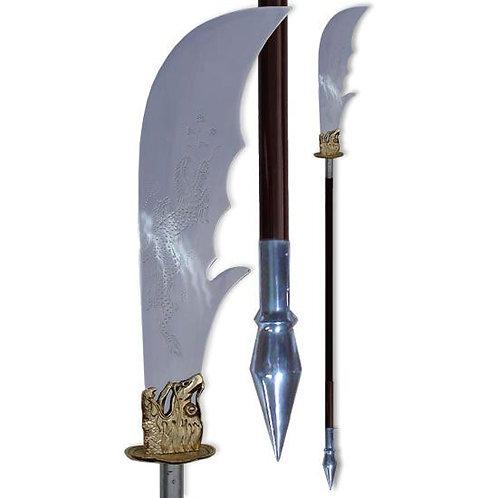Heavy Kuan Knife Dragon in Aluminium