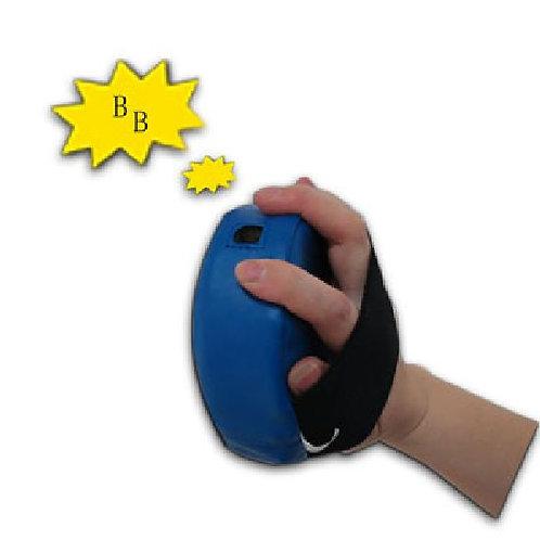 Childrens Small Round Blue Focus Pads W/ Sound