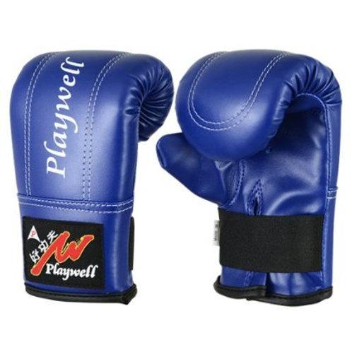 Childrens Blue Bag Gloves / Mitts Ages 4 - 12