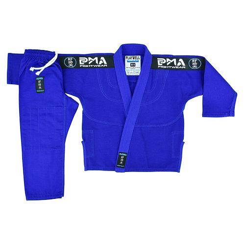 PMA Kids Elite Pearl Weave Jiu Jitsu Gi - Blue