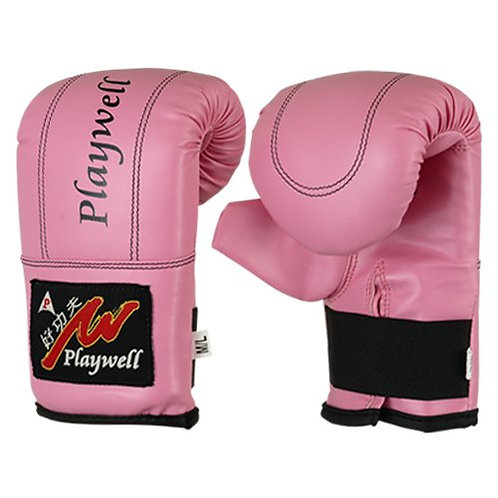 Childrens Pink Bag Gloves / Mitts Ages 4 - 12