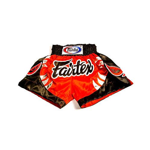 Fairtex BSK611 Kids Muay Thai Shorts - Red