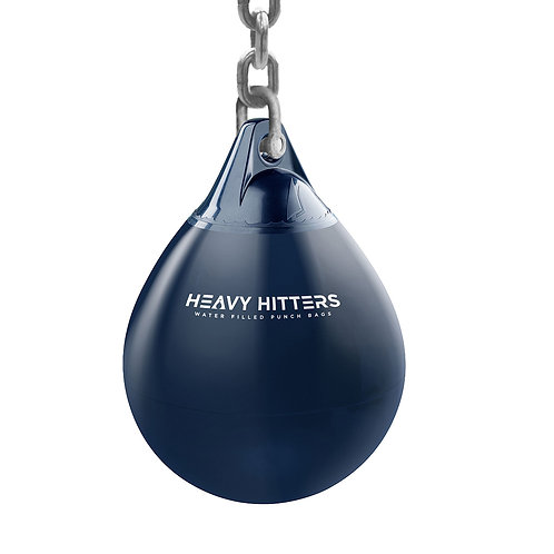 """Heavy Hitters Water Filled Punch Bag  - 16"""" - Blue"""