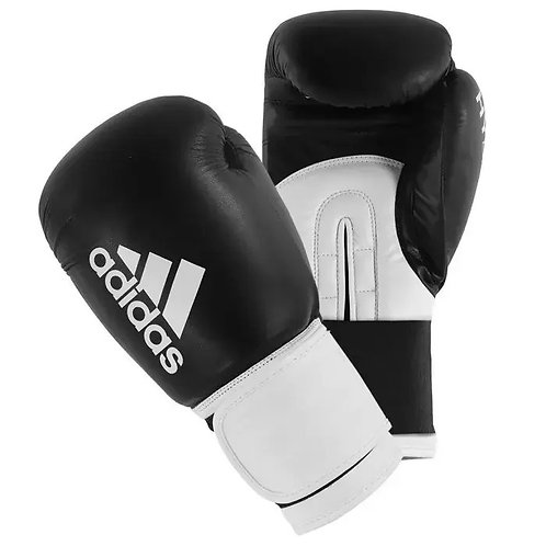 Adidas Hybrid 100 Mens Boxing Gloves - Black