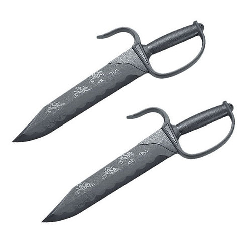 Black Polypropylene Shaolin Wing Chun Knives