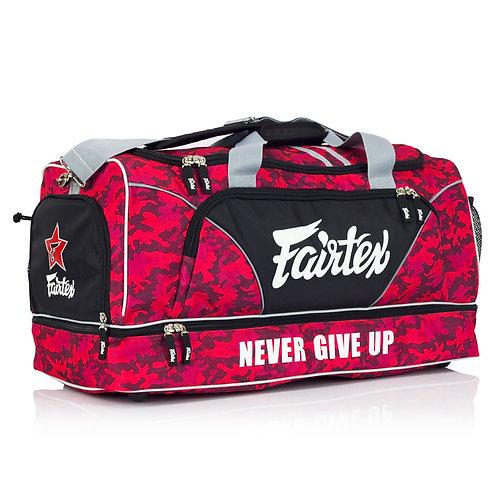 Fairtex Red Camo Heavy Duty Large Gym Bag