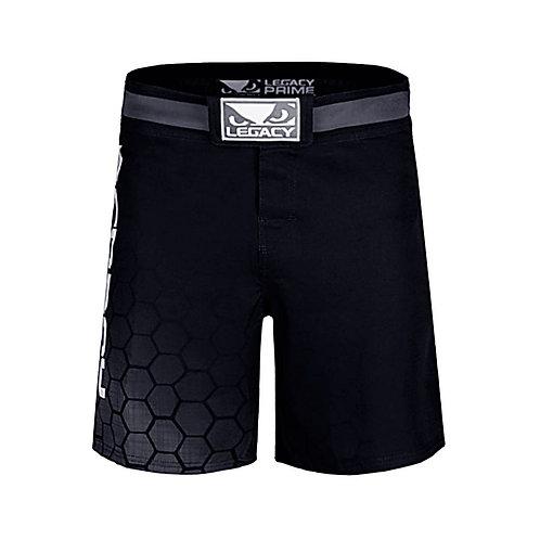 Bad Boy Black MMA Legacy Prime Fight Shorts