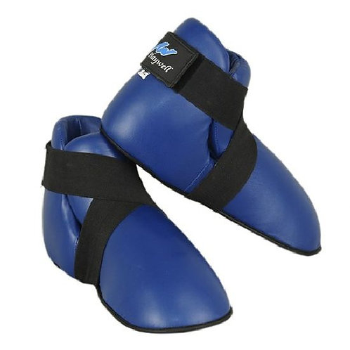 Semi Contact Point Sparring Boots - Blue