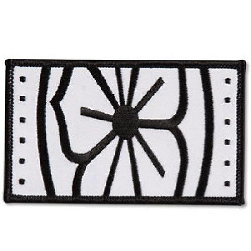 Karate Kid Embroidered Flower Patch