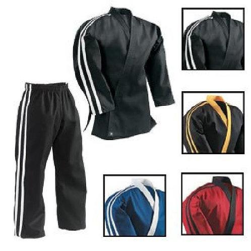Striped Team Uniform - Black 2 White Stripes