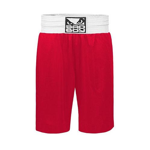 Bad Boy Pro Boxing Shorts - Red
