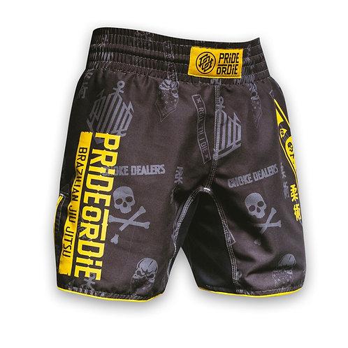 Pride or Die MMA Ju Jitsu Hang Loose Fight Shorts