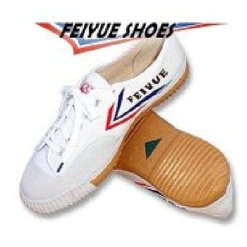 Childrens Feiyue Wushu Training Shoes : White