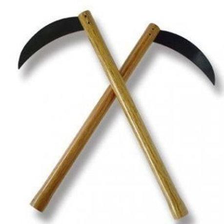 Kama With Blunt Steel Blade
