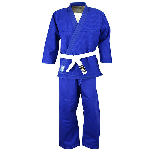 Playwell Jiu Jitsu Basic Uniform - Blue 380gsm