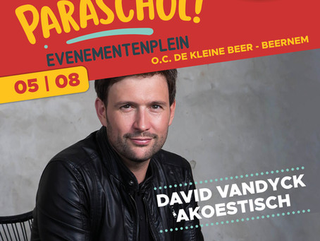 David Vandyck 'Akoestisch' - Paraschol (Beernem)