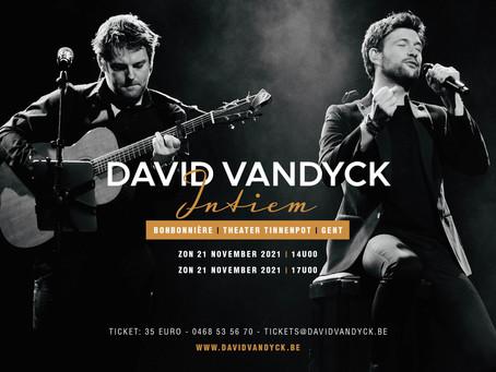 David Vandyck 'Intiem' - Theater Tinnenpot Gent - zondag 21 november - 14u00 & 17u00