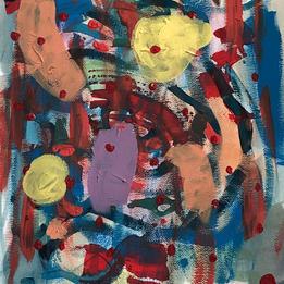 """Sadie Brown Grade 7 """"Emotional Landscapes"""" by Bjork"""