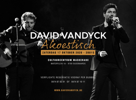 David Vandyck Akoestisch // C.C. Maskerade - Oudenaarde