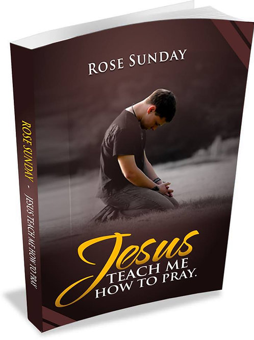 Jesus Teach Me How To Pray *SIGNED COPY*