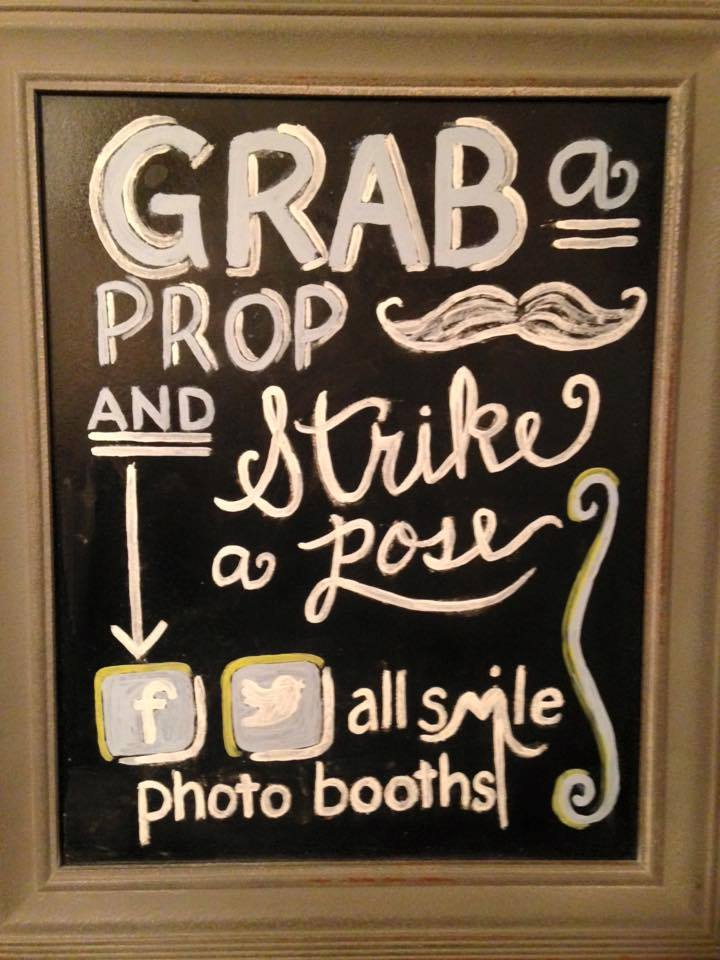 All Smile Photo Booth Rental props