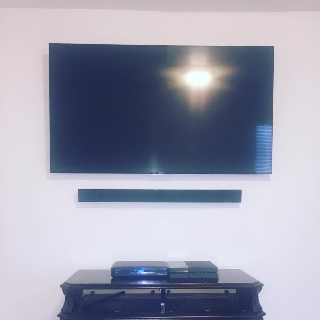 TV Shelf or Sound bar Installation
