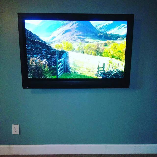 TV Installation (DryWall) 40-49in