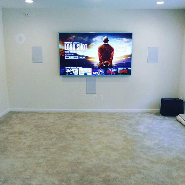 "TV Installation (Flat Wall) 80""-Up"