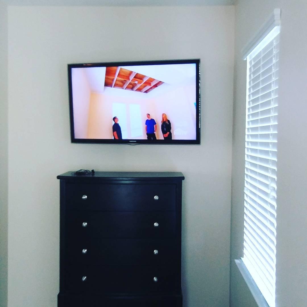 TV Installation (Flat Wall) 50-59in