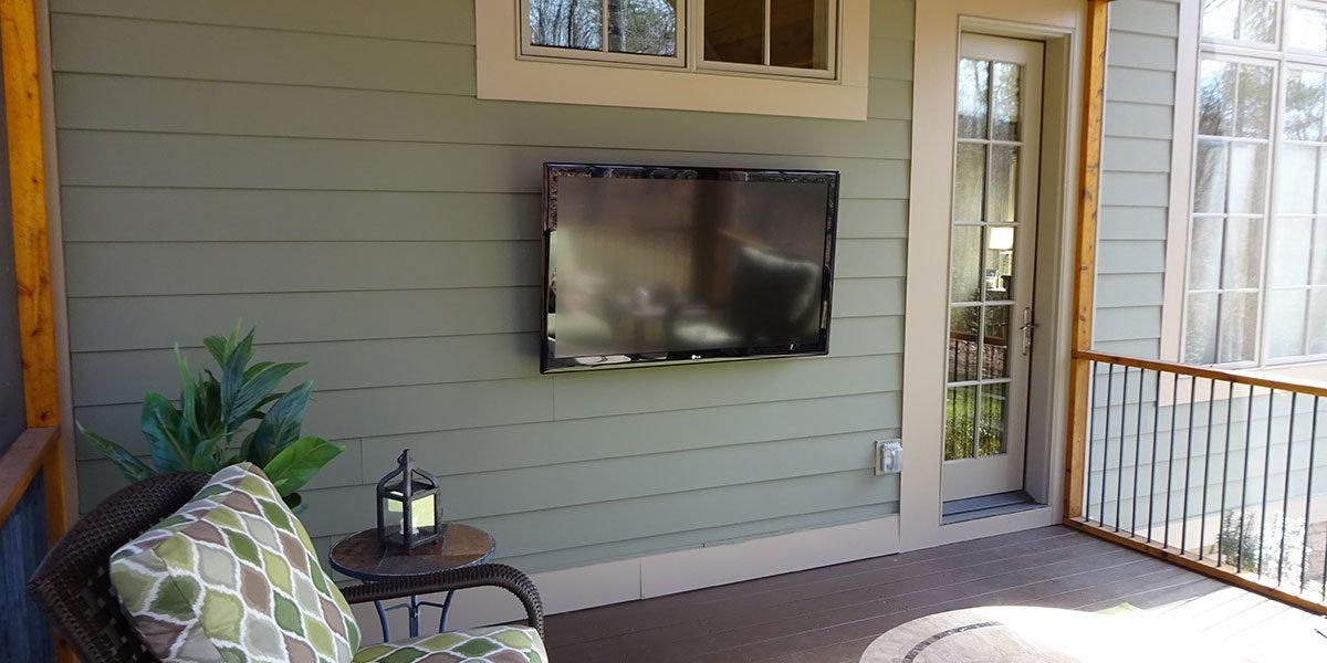 Outdoor TV Installation