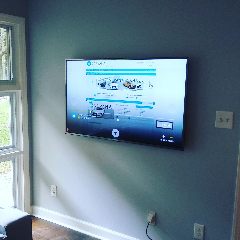 TV Installation (Flat Wall) 60-69in