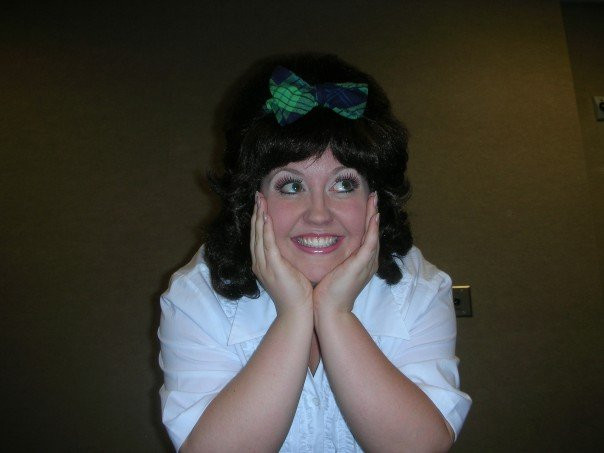 Cheryl Ann as Tracy Turnblad in HAIRSPRAY