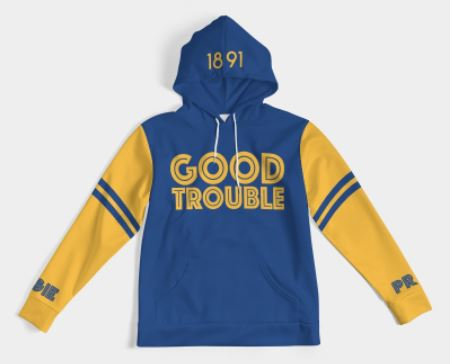 AGGIE GOOD TROUBLE HOODIE (Women's, Men's & Kid's)