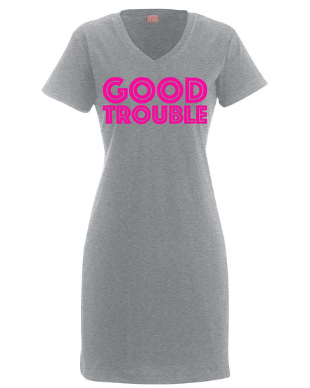 Good Trouble Dress (Click for More Colors)