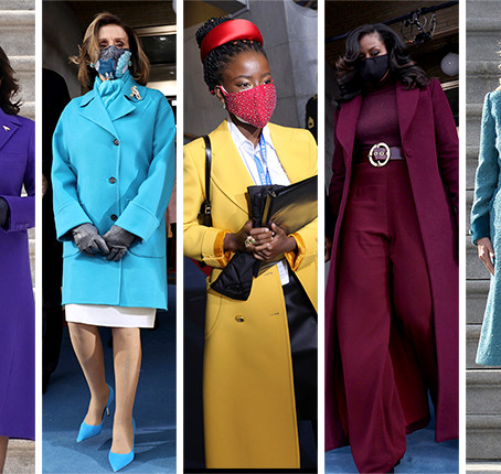 The Colorful Coats that Stole the Inauguration Spotlight