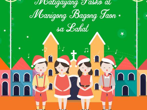 Maligayang Pasko at Manigong Bagong Taon sa Lahat!
