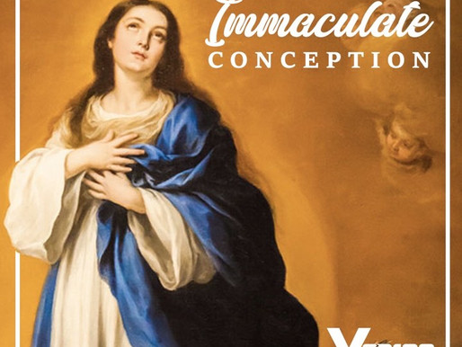 Happy Feast of the Immaculate Conception!