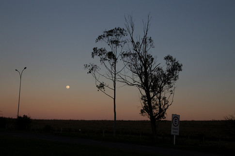 Lua na BR273 04