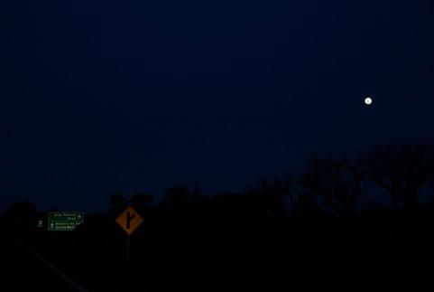 Lua na BR273 09
