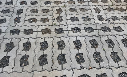 permeable pavers, paving