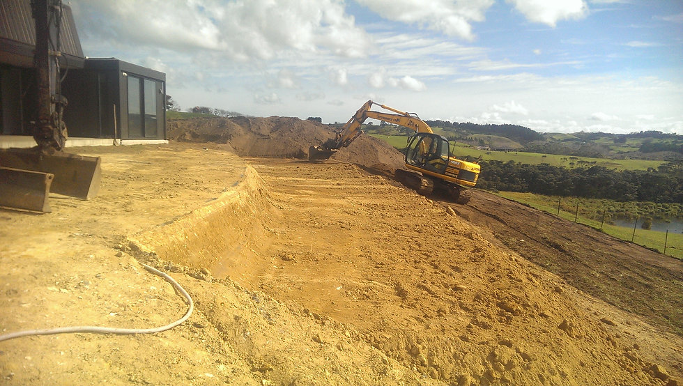 civil construction, earthworks, excavation