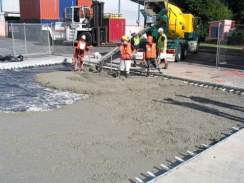foundations, floor slabs