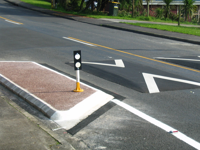 Auckland Council Speed Control Bumps - T
