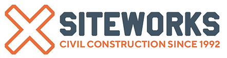 Siteworks civil construction since 1992 logo
