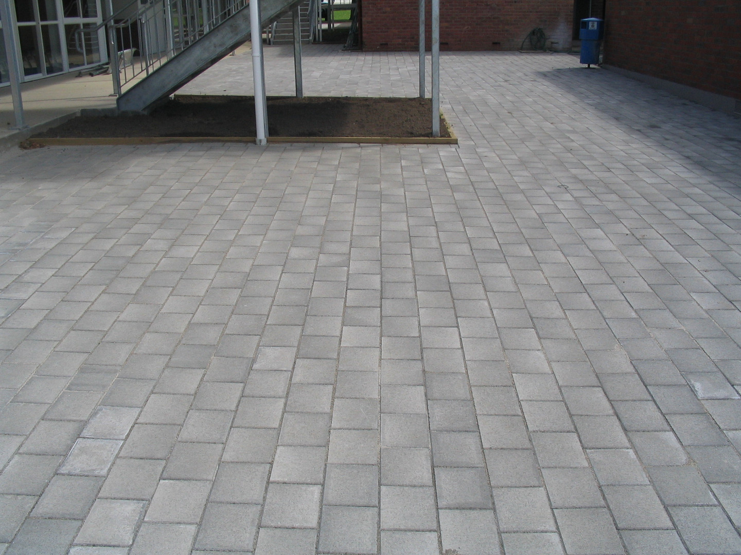 Commercial Paving Area