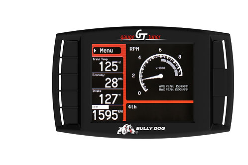 BULLY DOG TRIPLE DOG GT GAS TUNER AND GAUGE | 50 STATE LEGAL