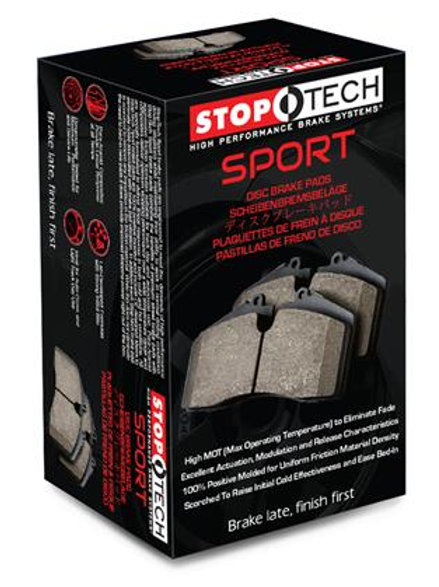 STOPTECH SPORT PADS | 09+ 370Z SPORT
