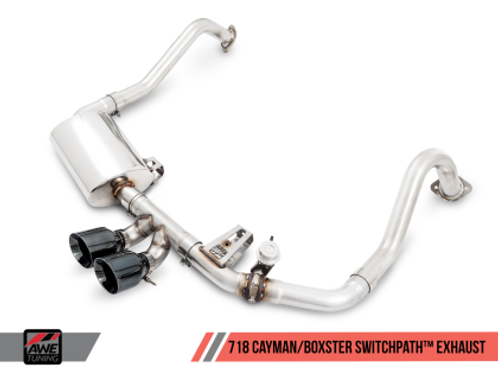 AWE TUNING SWITCHPATH EXHAUST | 718 BOXTER / CAYMAN | 2017-2019