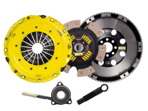ACT HD/RACE SPRUNG 6 PAD CLUTCH KIT | GOLF GTI / R | 2015-2017